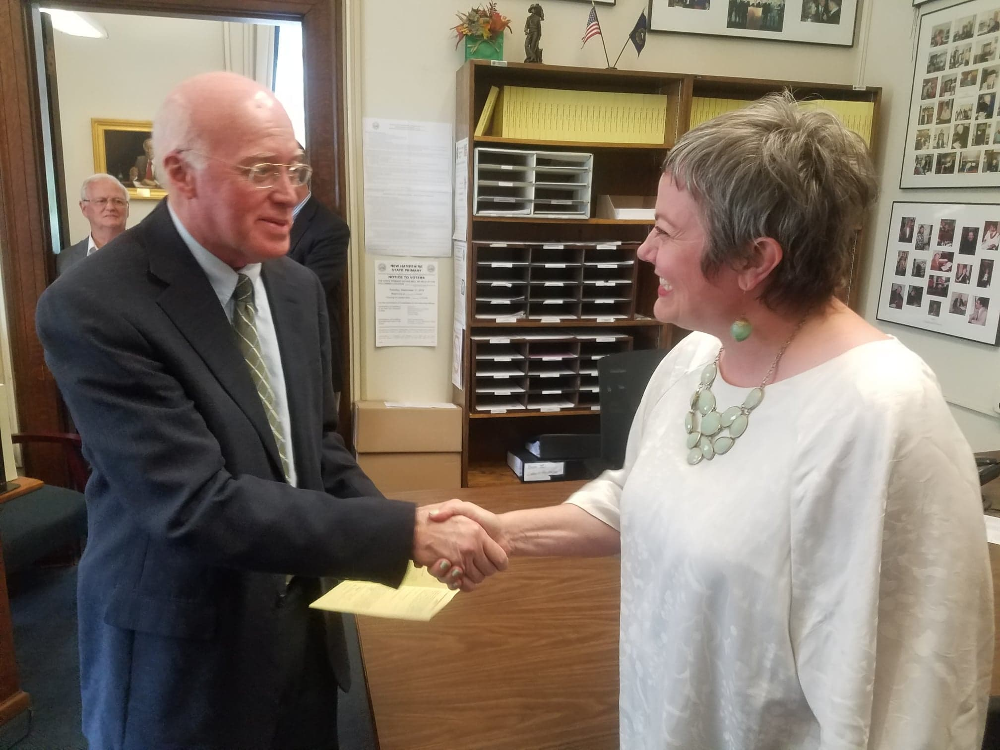 It's official! Carla Gericke files for NH Senate District 20