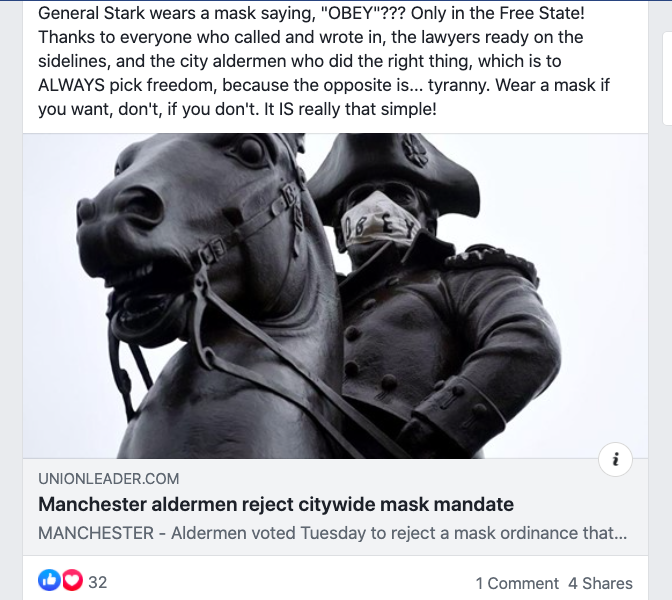 Victory for Freedom of Choice: No Mask Mandate in Manchester